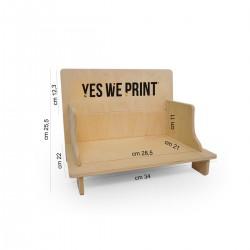 Stampa espositore da banco in forex o in legno