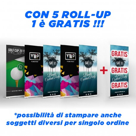 Kit 5 rollup + 1 omaggio